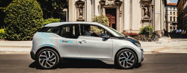 Come funziona DriveNow auto elettriche