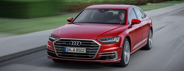 come va nuova Audi A8