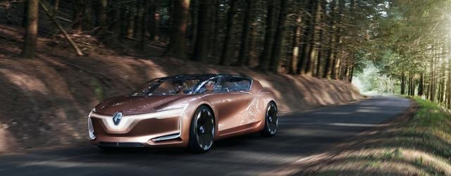 Renault al Salone di Francoforte 2017 ha presentato il concept Symbioz