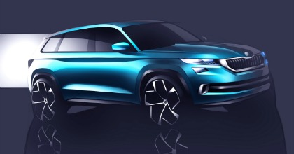 Concept Škoda Vision S Salone Ginevra 2016
