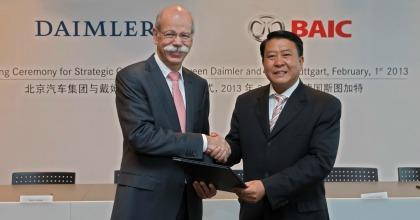 Daimler ha acquistato il 12% di Baic Motor