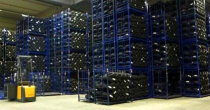 Delticom, magazzino pneumatici