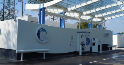 stazione di rifornimento idrogeno