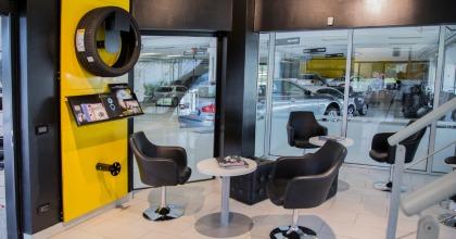 Pirelli Driver Center interni