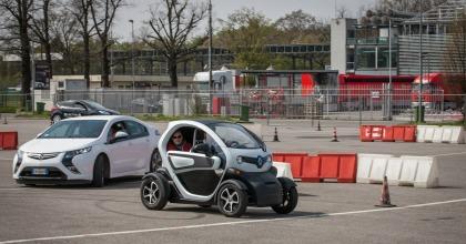 E-Vehicles Fleet Day, handling, Monza