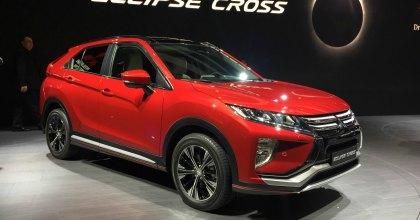 Nuova Mitsubishi Eclipse Cross al Salone di Ginevra