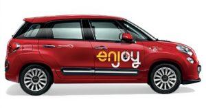 Enjoy Fiat 500L car sharing