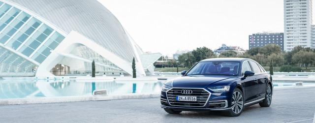 Nuova Audi A8 mild hybrid esterni