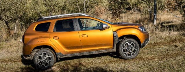 Esterni nuova Dacia Duster 2018