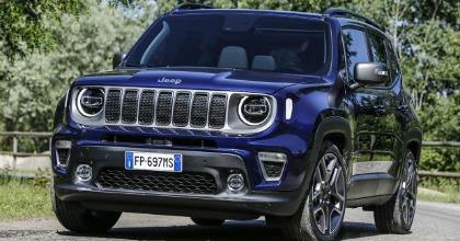 Esterni nuova Jeep Renegade 2019