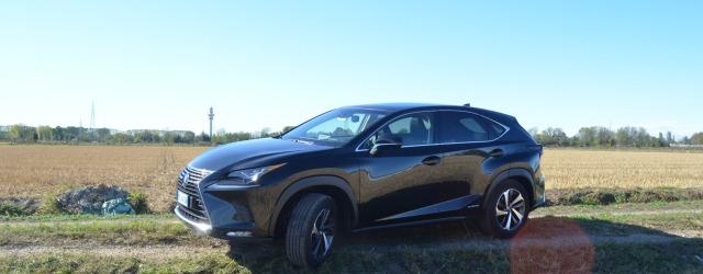 Esterni nuova Lexus NX ibrida