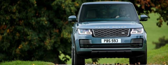 Esterni nuova Range Rover 2018