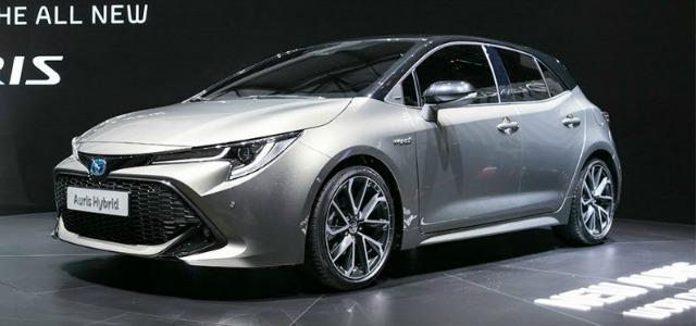 Esterni nuova Toyota Auris