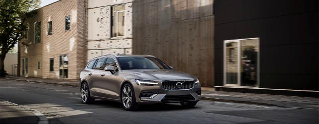 Esterni nuova Volvo V60