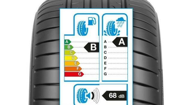 Etichetta pneumatici come si legge