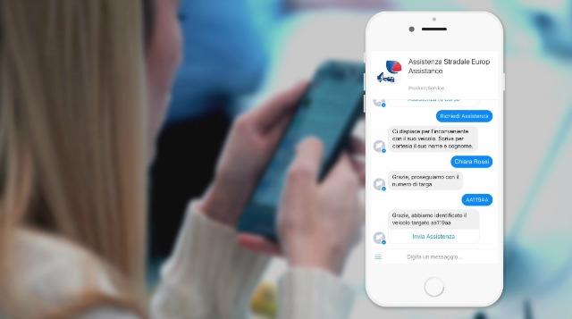 Europ Assistance Italia Chatbot Messenger