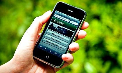 Europcar su smartphone