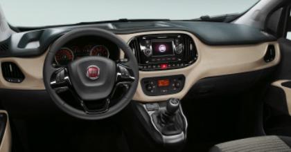 Fiat Doblò interni 2015