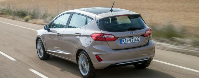 Ford Fiesta Vignale su strada