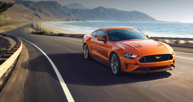 Gamma ford 2018 - Mustang restyling