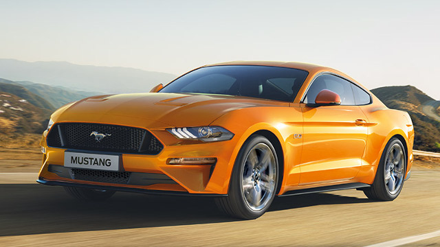 Restyling Ford Mustang