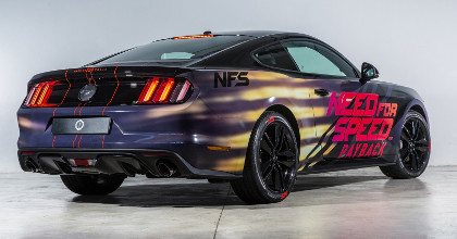 Ford Mustang Need for Speed Payback posteriore