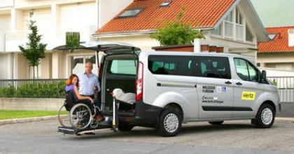 Ford Transit Custom Hertz disabili