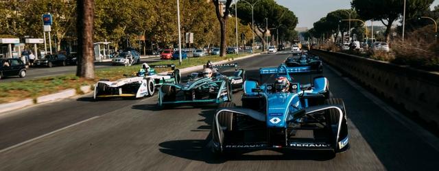 Formula E circuito cittadino Roma