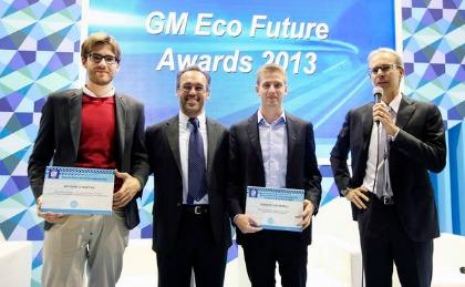 GM EcoFutureAwards 2013, la premiazione