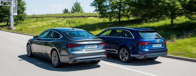Auto a metano gamma Audi g-tron 2017