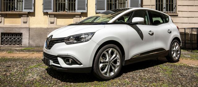 Gamma Renault Business Scenic bianca