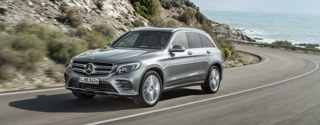 Gamma ibrida Mercedes GLC