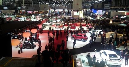 Una panoramica del Salone di Ginevra