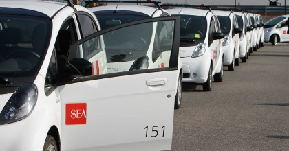 Gestione parco auto Sea PSA Malpensa