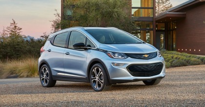 Green Car of the Year 2017 Chevrolet Bolt