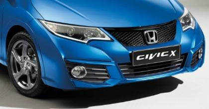 Honda Civic 2016 parte anteriore