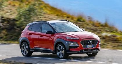 Kona Hyundai a noleggio