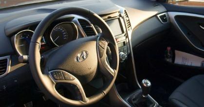 Hyundai abitacolo