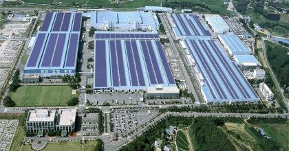 Lo stabilimento di Hyundai