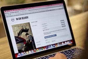 Prenotazione online volvo in car delivery