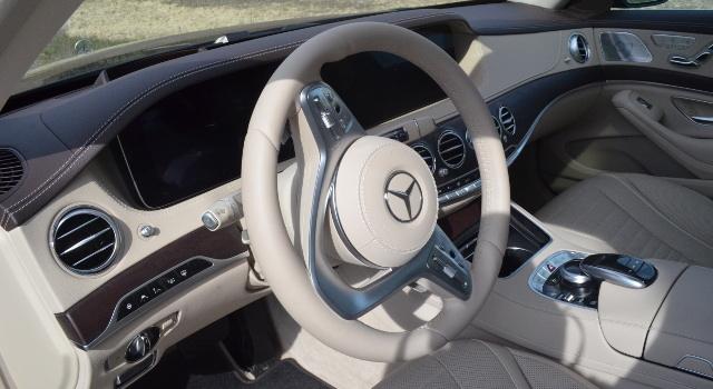 Plancia della Mercedes Classe S