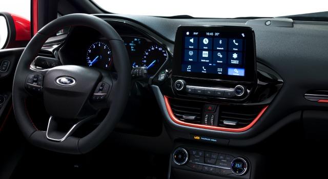 Interni nuova Ford Fiesta 2017