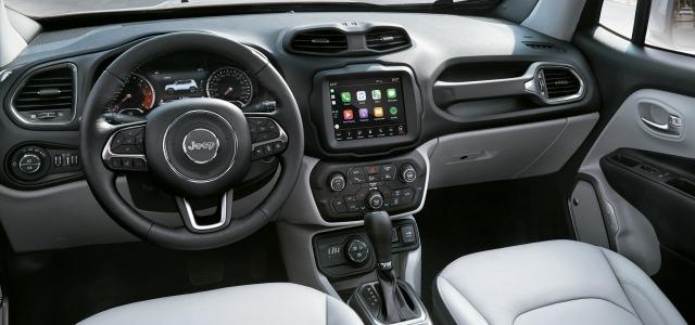 Interni nuova Jeep Renegade 2018