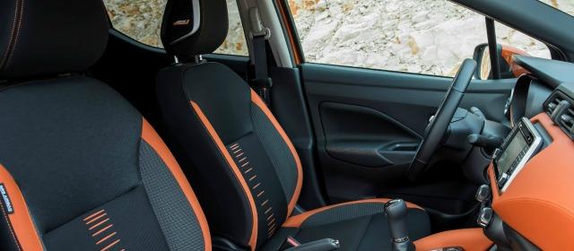 Gli interni della nuova Nissan Micra 2017