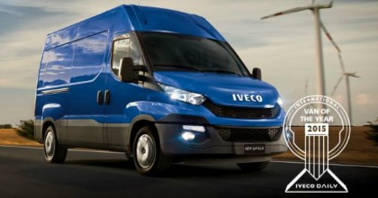Iveco Daily 'Van of The Year' 2014