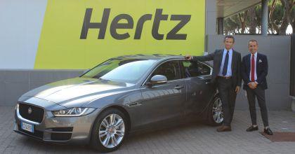 Jaguar XE Hertz 2015