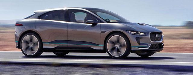 Jaguar I-Pace premiata al Car Design Award 2017
