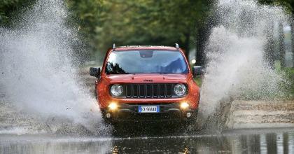 Jeep Renegade 2016 sull'acqua