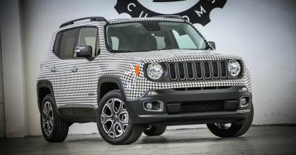 Jeep Renegade personalizzata Garage Italia