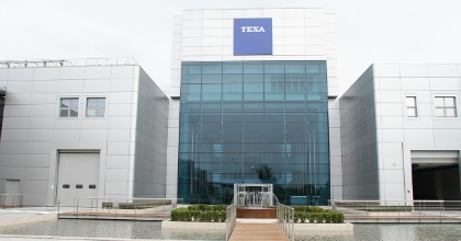 La sede di Texa, inaugurata nel 2012